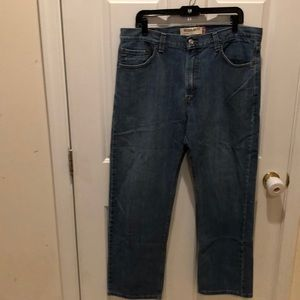 Men's 36W 30L Levi's 505 Regular Fit Jeans